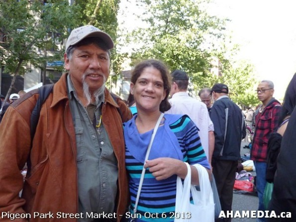 245 AHA MEDIA at Pigeon Park Street Market Sun Sept 29 2013 in Vancouver DTES