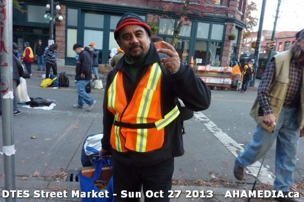 27 AHA MEDIA at  DTES Street Market on Sun Oct 27 2013