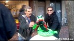 3 AHA MEDIA sees Roland Clarke with Pat and their encounter with Stuffed Green Snake in Vancouver DTE