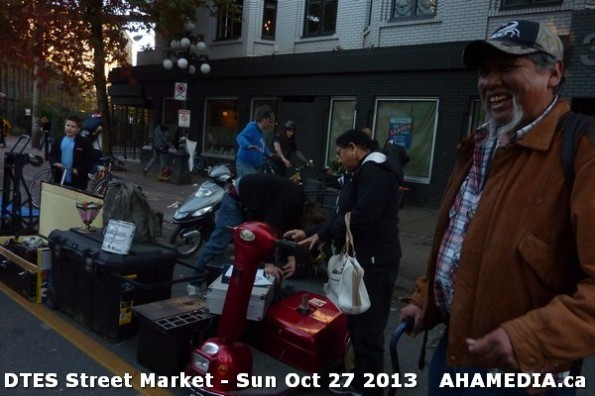 33 AHA MEDIA at  DTES Street Market on Sun Oct 27 2013