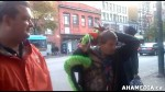 34 AHA MEDIA sees Roland Clarke with Pat and their encounter with Stuffed Green Snake in Vancouver DTE