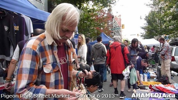 343 AHA MEDIA at Pigeon Park Street Market Sun Sept 29 2013 in Vancouver DTES