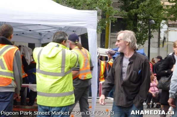 378 AHA MEDIA at Pigeon Park Street Market Sun Sept 29 2013 in Vancouver DTES
