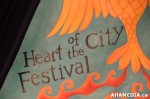 4 AHA MEDIA at DTES FRONT AND CENTRE for Heart of the City Festival 2013 in Vancouver