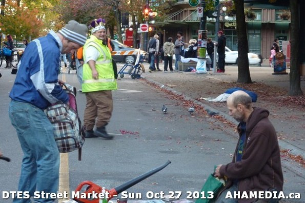 40 AHA MEDIA at  DTES Street Market on Sun Oct 27 2013