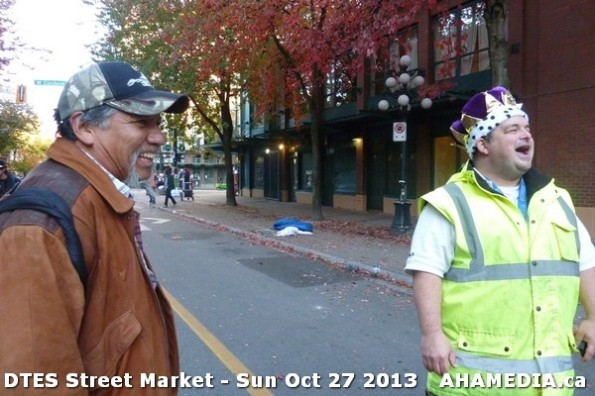42 AHA MEDIA at  DTES Street Market on Sun Oct 27 2013