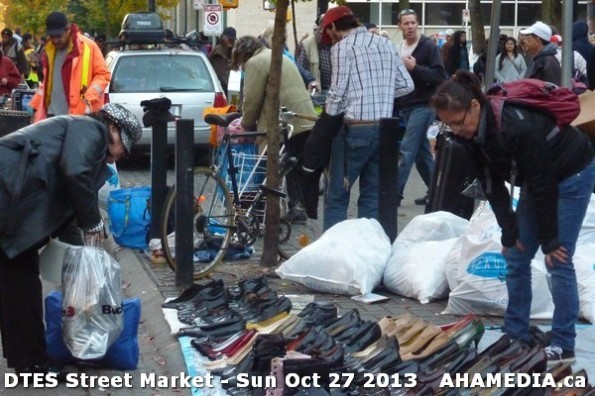 47 AHA MEDIA at  DTES Street Market on Sun Oct 27 2013