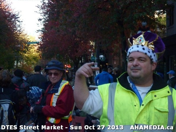 5 AHA MEDIA at  DTES Street Market on Sun Oct 27 2013