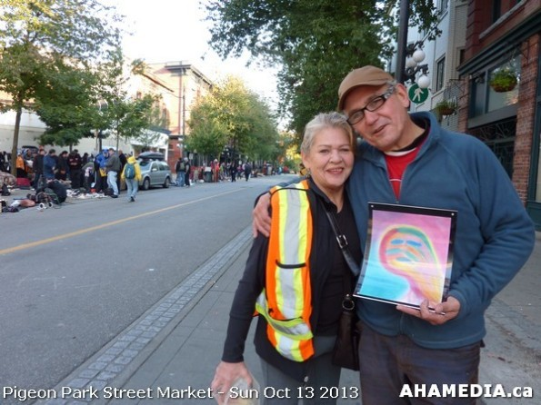 54 AHA MEDIA at Pigeon Park Street Market - Suct 13 2013 in Vancouver DTES