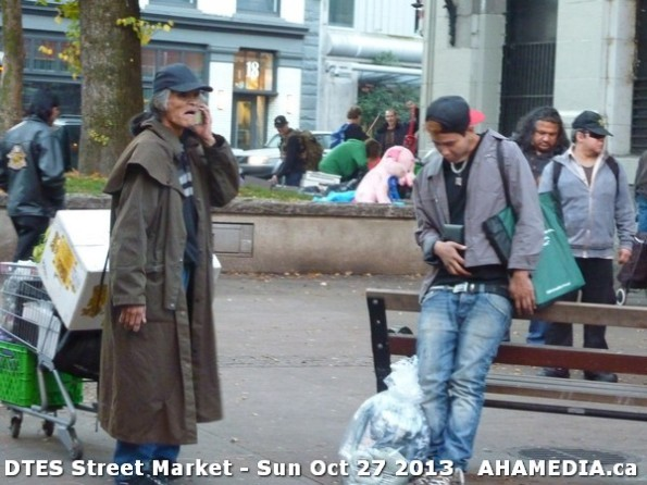 66 AHA MEDIA at  DTES Street Market on Sun Oct 27 2013