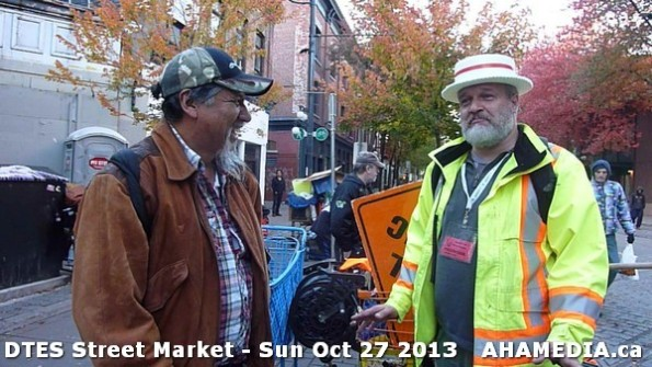 69 AHA MEDIA at  DTES Street Market on Sun Oct 27 2013
