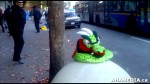 7 AHA MEDIA sees Roland Clarke with Pat and their encounter with Stuffed Green Snake in Vancouver DTE