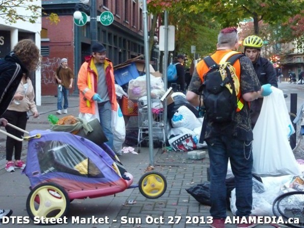 89 AHA MEDIA at  DTES Street Market on Sun Oct 27 2013