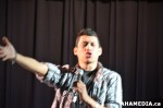 21 AHA MEDIA at CARNEGIE'S 1ST POETRY SLAM for Heart of the City Festival 2013 in Vancouver