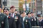 357 AHA MEDIA at Remembrance Day 2013 in Victory Square,Vancouver