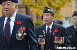 377 AHA MEDIA at Remembrance Day 2013 in Victory Square,Vancouver