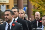 445 AHA MEDIA at Remembrance Day 2013 in Victory Square, Vancouver