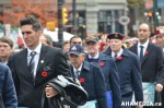 453 AHA MEDIA at Remembrance Day 2013 in Victory Square,Vancouver