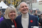 658 AHA MEDIA at Remembrance Day 2013 in Victory Square,Vancouver