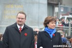 670 AHA MEDIA at Remembrance Day 2013 in Victory Square, Vancouver