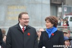 675 AHA MEDIA at Remembrance Day 2013 in Victory Square, Vancouver