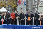 680 AHA MEDIA at Remembrance Day 2013 in Victory Square, Vancouver