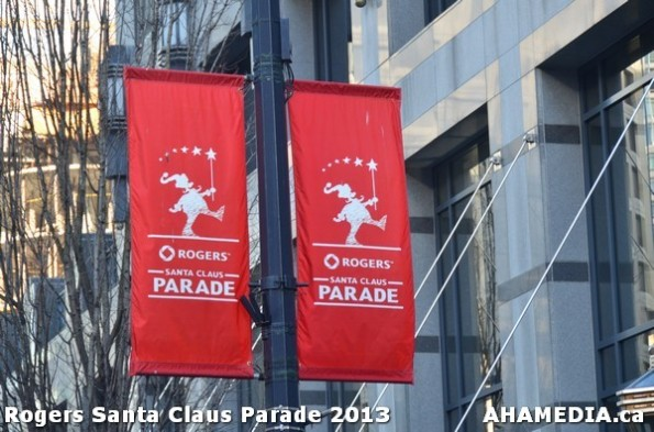1 AHA MEDIA at 10th Annual Rogers Santa Claus Parde in Vancouver 2013