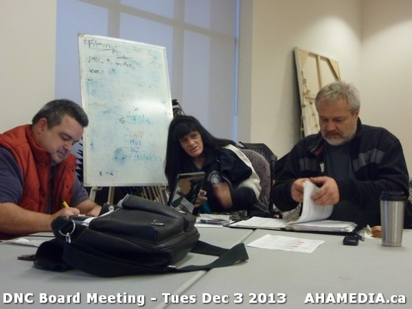 1 AHA MEDIA at  DNC Board Meeting - Tues Dec 3 2013