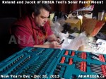 1 AHA MEDIA  sees HXBIA Tool build Solar Panel Mounting System on Tues Dec 31 2013 (130)
