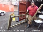 1 AHA MEDIA  sees HXBIA Tool build Solar Panel Mounting System on Tues Dec 31 2013 (133)