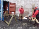 1 AHA MEDIA  sees HXBIA Tool build Solar Panel Mounting System on Tues Dec 31 2013 (139)