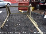 1 AHA MEDIA  sees HXBIA Tool build Solar Panel Mounting System on Tues Dec 31 2013 (198)