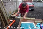 1 AHA MEDIA  sees HXBIA Tool build Solar Panel Mounting System on Tues Dec 31 2013 (2)