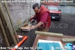 1 AHA MEDIA  sees HXBIA Tool build Solar Panel Mounting System on Tues Dec 31 2013 (3)