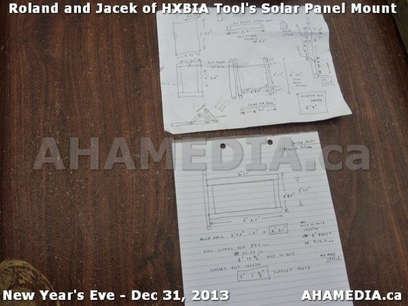 1 AHA MEDIA  sees HXBIA Tool build Solar Panel Mounting System on Tues Dec 31 2013 (31)