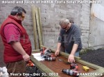 1 AHA MEDIA  sees HXBIA Tool build Solar Panel Mounting System on Tues Dec 31 2013 (49)