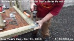 1 AHA MEDIA  sees HXBIA Tool build Solar Panel Mounting System on Tues Dec 31 2013 (5)
