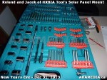 1 AHA MEDIA  sees HXBIA Tool build Solar Panel Mounting System on Tues Dec 31 2013 (70)