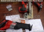 1 AHA MEDIA  sees HXBIA Tool build Solar Panel Mounting System on Tues Dec 31 2013 (88)