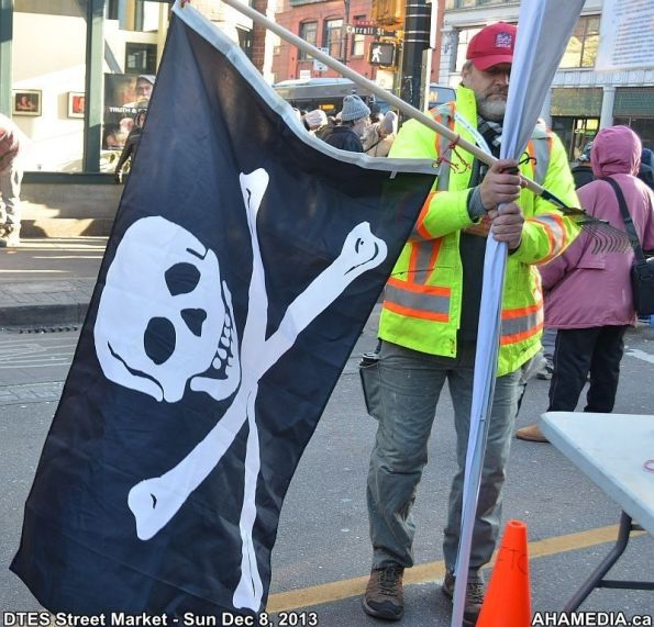 1 AHA MEDIA sees Pirate Flag at DTES Street Market in Vancouver 2