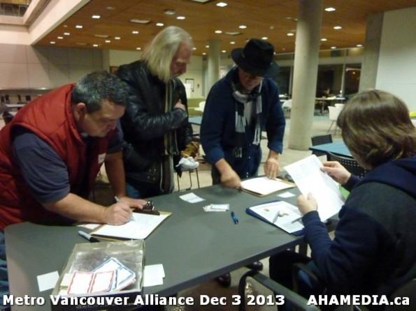 10 AHA MEDIA at Metro Alliance Vancouver meeting - Tues Dec 3 2013