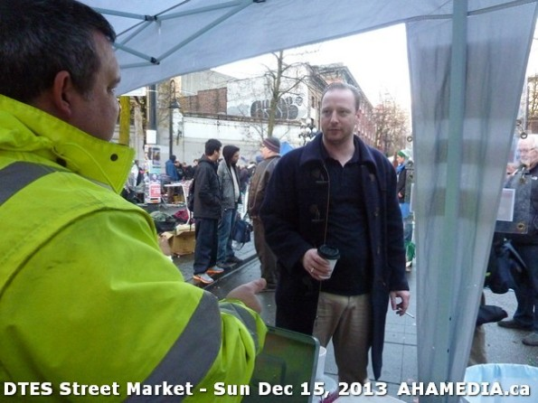 105 AHA MEDIA at DTES Street Market in Vancouver - Sun Dec 15, 2013