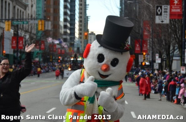 106 AHA MEDIA at 10th Annual Rogers Santa Claus Parde in Vancouver 2013
