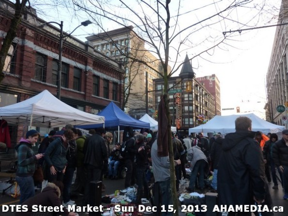 106 AHA MEDIA at DTES Street Market in Vancouver - Sun Dec 15, 2013