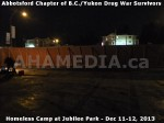 107 AHA MEDIA at BC Yukon Drug War Survivors Homeless Standoff in Jubilee Park, Abbotsford, B.C.