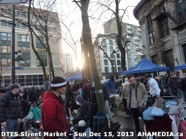 107 AHA MEDIA at DTES Street Market in Vancouver - Sun Dec 15, 2013