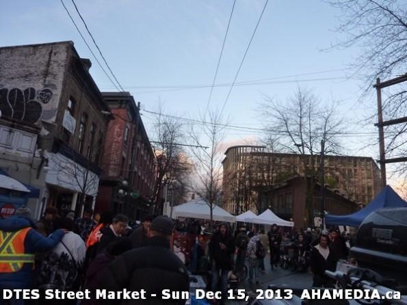 109 AHA MEDIA at DTES Street Market in Vancouver - Sun Dec 15, 2013