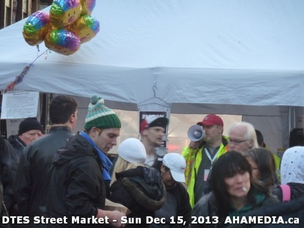 111 AHA MEDIA at DTES Street Market in Vancouver - Sun Dec 15, 2013