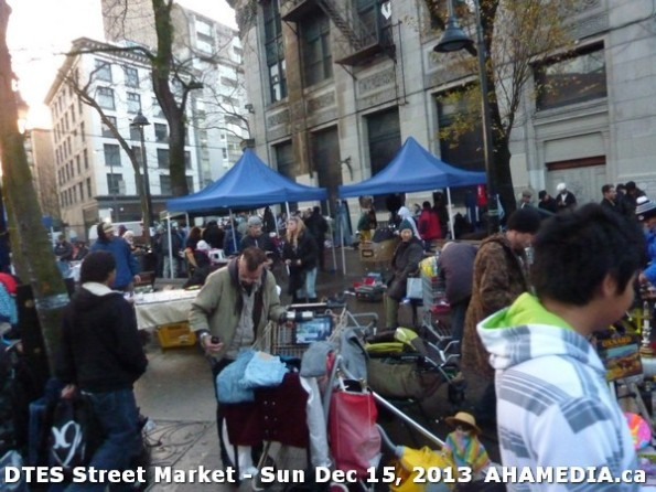 114 AHA MEDIA at DTES Street Market in Vancouver - Sun Dec 15, 2013