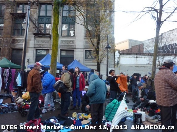 116 AHA MEDIA at DTES Street Market in Vancouver - Sun Dec 15, 2013
